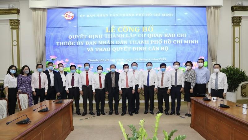 Lễ công bố thành lập 5 cơ quan báo chí thuộc UBND TP.HCM - ảnh 4