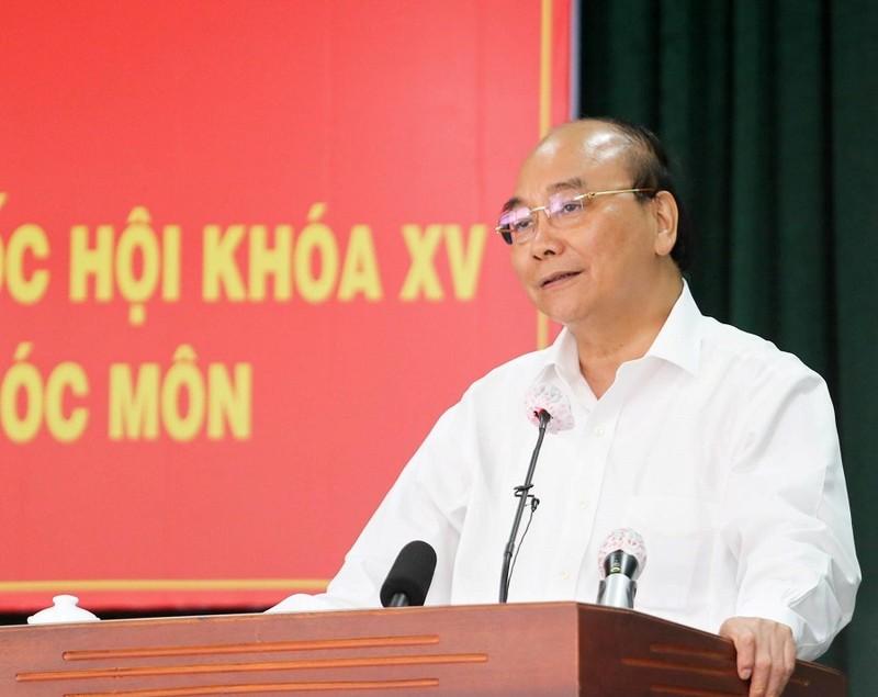 Chủ tịch nước: 'Hóc Môn phải thành quận đô thị sinh thái' - ảnh 2