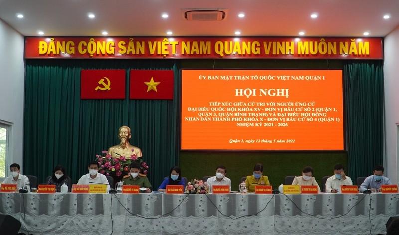 Ông Nguyễn Thành Phong cam kết tận tụy vì sự phát triển của TP - ảnh 1