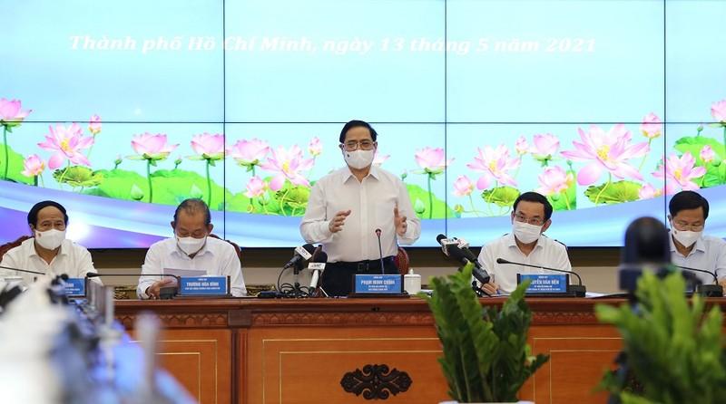 Thủ tướng Phạm Minh Chính làm việc với TP.HCM - ảnh 2