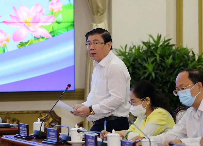 Thủ tướng Phạm Minh Chính làm việc với TP.HCM - ảnh 4
