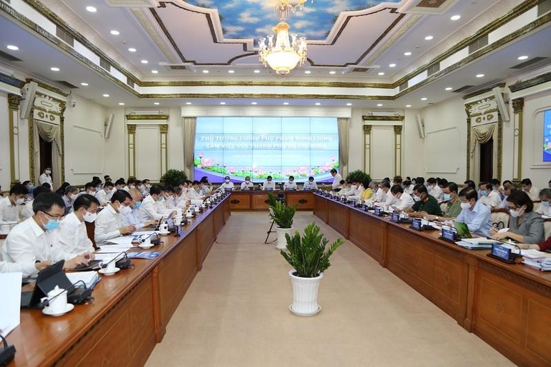Thủ tướng Phạm Minh Chính làm việc với TP.HCM - ảnh 3