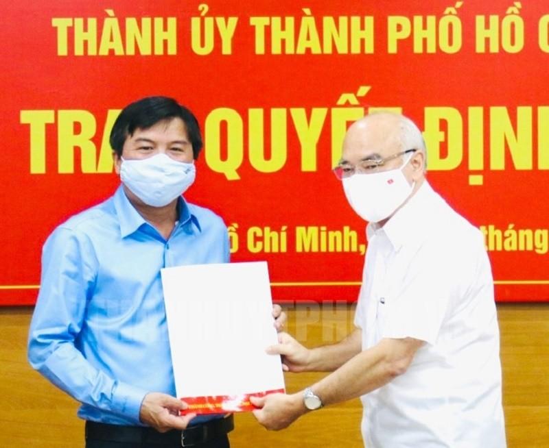 Ông Tăng Hữu Phong làm Tổng Biên tập Báo Sài Gòn Giải Phóng - ảnh 1