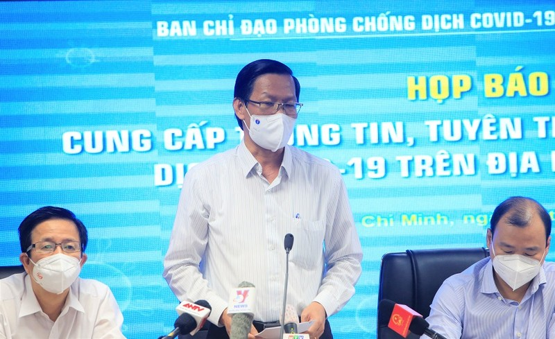 Ông Phan Văn Mãi: 'TP.HCM xác định tâm thế sống trong điều kiện có dịch' - ảnh 1