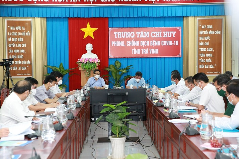 Phó Thủ tướng: Trà Vinh nhanh chóng đưa 30.000 công nhân trở lại làm việc - ảnh 1