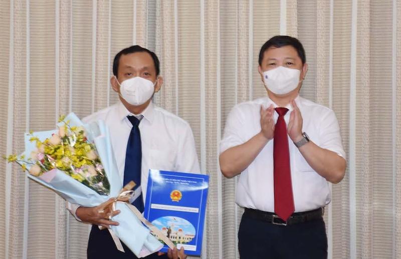 Bác sĩ Nguyễn Anh Dũng làm Phó Giám đốc Sở Y tế TP.HCM - ảnh 1