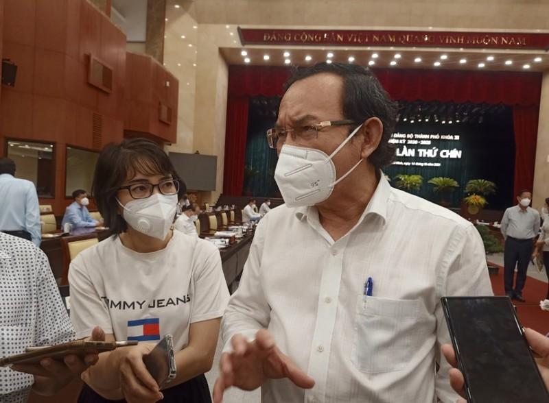 Chủ tịch TP.HCM Phan Văn Mãi: TP chưa thể trở lại bình thường mới trong tháng 11 - ảnh 2
