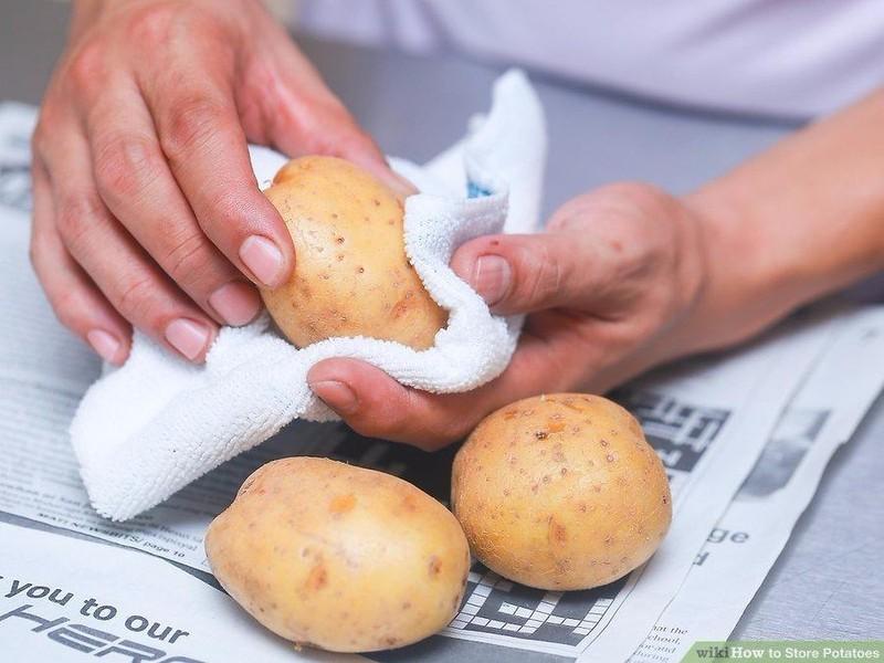 Cách lưu trữ khoai tây trong thời gian dài - ảnh 2