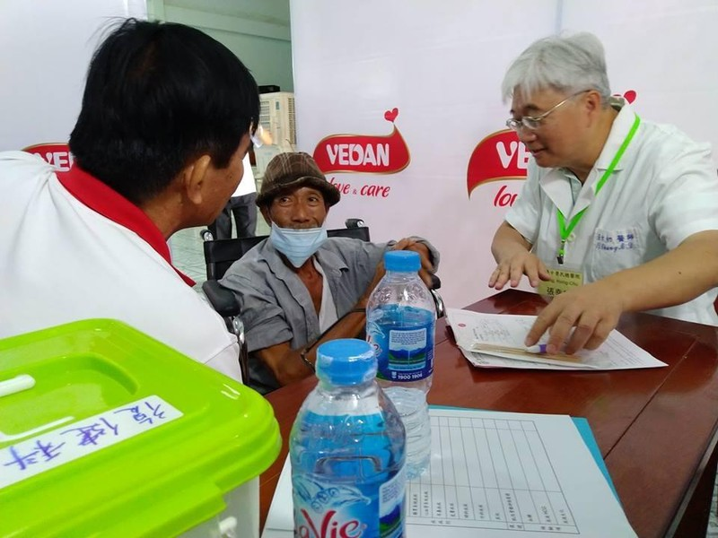 Vedan tổ chức khám chữa bệnh miễn phí cho bà con tỉnh Đồng Nai - ảnh 2