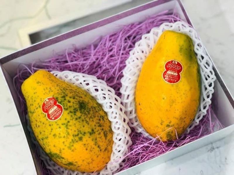 Những loại trái cây giá siêu đắt của Nhật bán tại Việt Nam - ảnh 2