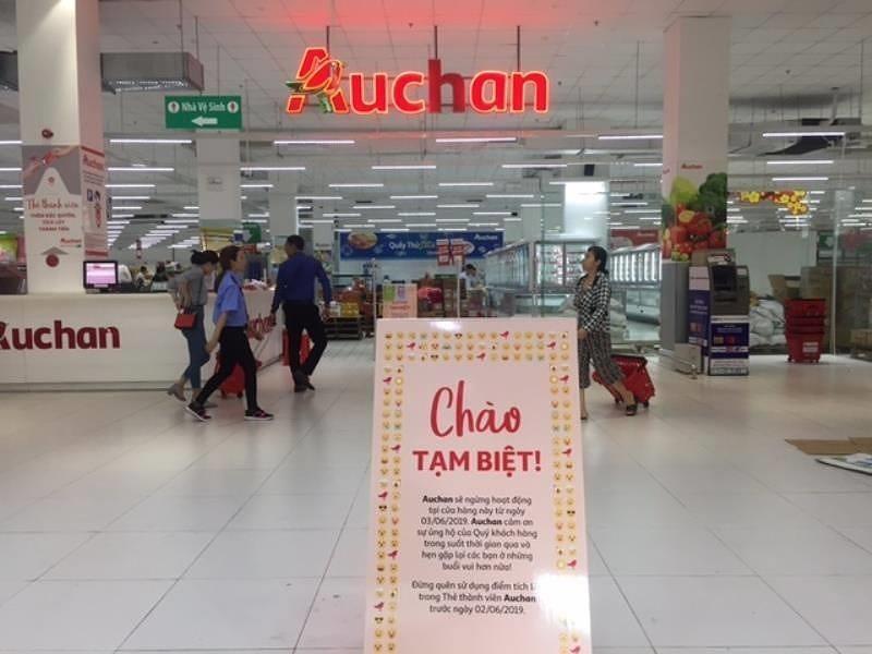 Auchan chính thức đóng 15 cửa hàng tại Việt Nam - ảnh 1