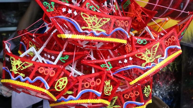 Làng lồng đèn Phú Bình nhộn nhịp mùa trung thu - ảnh 13