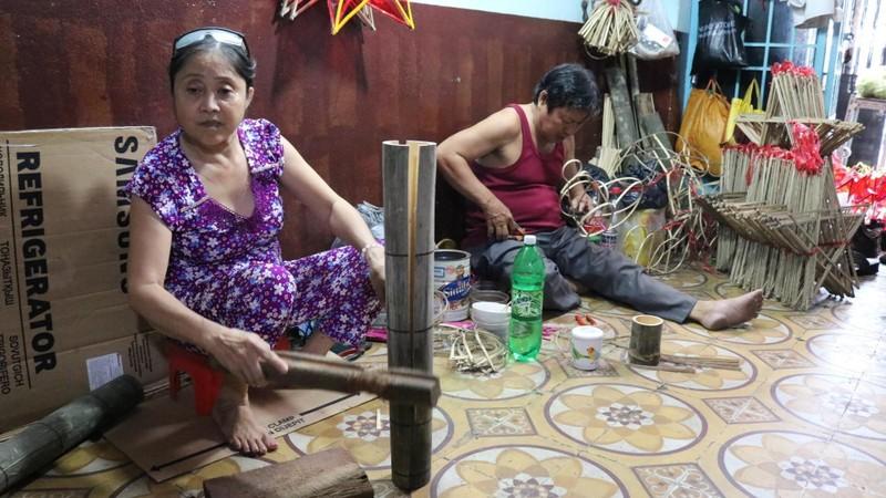 Làng lồng đèn Phú Bình nhộn nhịp mùa trung thu - ảnh 2