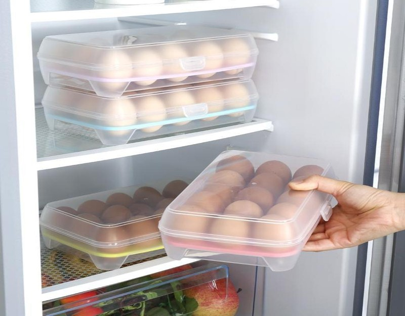 Tại sao không nên để trứng ở cánh cửa tủ lạnh - ảnh 2