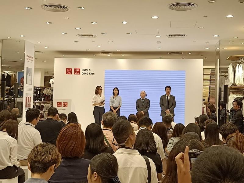 Uniqlo tuyên bố sẽ 'không thất bại tại thị trường Việt Nam' - ảnh 1