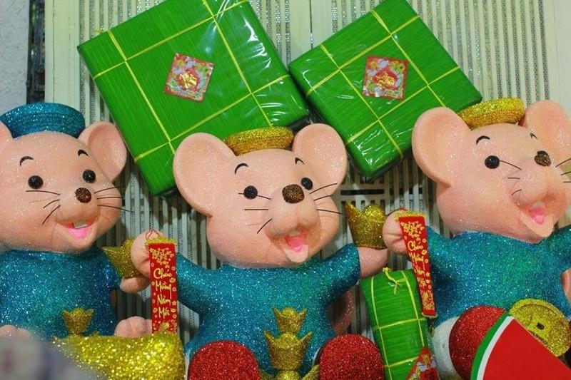 Chuột xốp khổng lồ giá hàng chục triệu trưng bán tết - ảnh 5