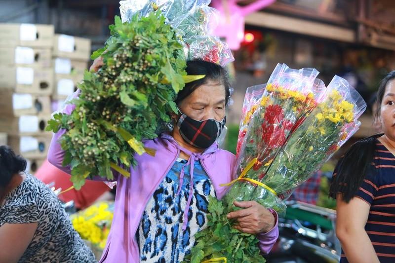 Tấp nập chợ hoa sỉ ngày 8-3 - ảnh 4