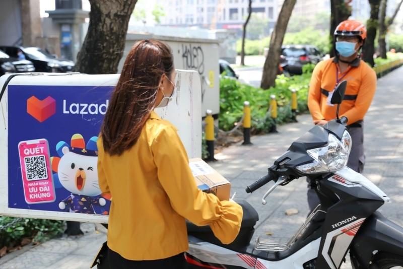 Ngại đi chợ mùa dịch, người dân tăng mua sắm online - ảnh 2