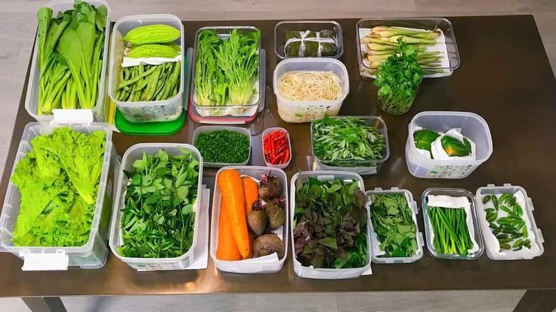 Mẹo giữ rau tươi xanh dù cất trữ trong tủ lạnh cả tuần - ảnh 1