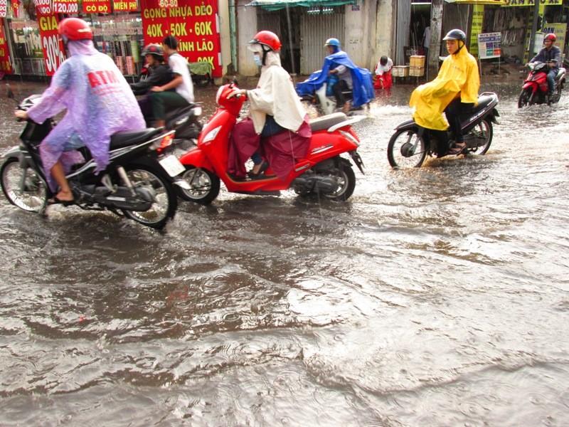 Người Sài Gòn nhẹ nhõm đón cơn mưa quý hơn vàng - ảnh 1
