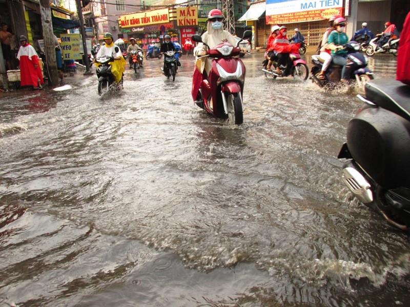 Người Sài Gòn nhẹ nhõm đón cơn mưa quý hơn vàng - ảnh 13