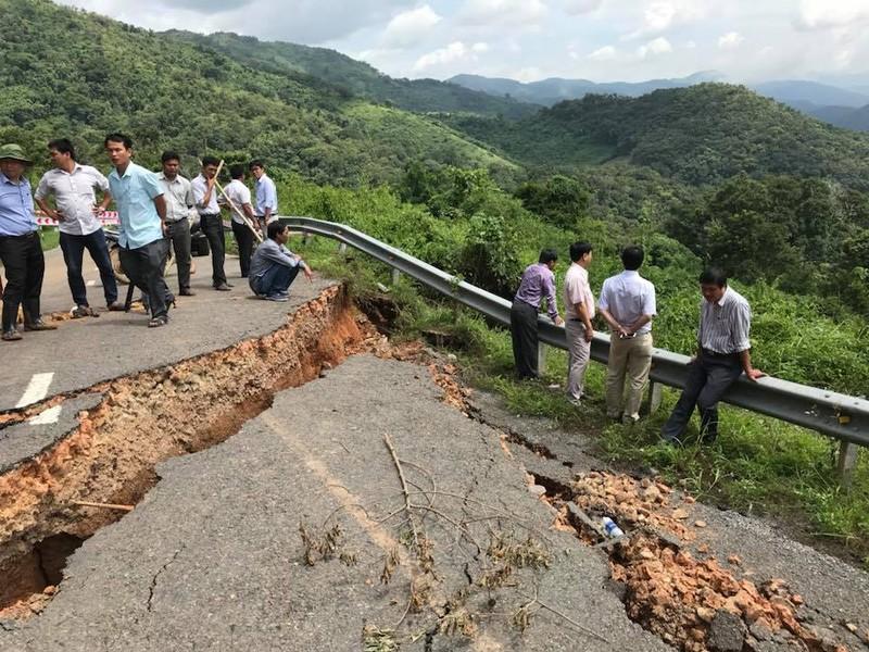 Phong tỏa QL28 Bình Thuận - Lâm Đồng do đường hư - ảnh 2