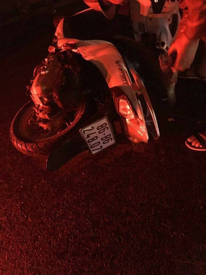 Một cô gái ngã xuống đường thiệt mạng nghi bị cướp - ảnh 1