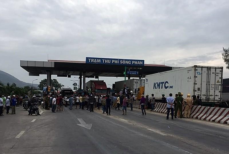 BOT Sông Phan lại 'thất thủ', đóng xả trạm liên tục - ảnh 4