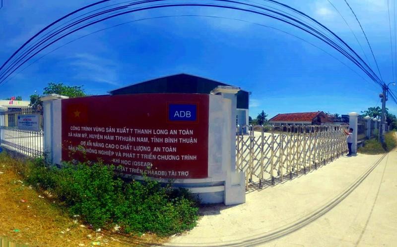 Bình Thuận thông tin vụ xây công trình lãng phí  - ảnh 1