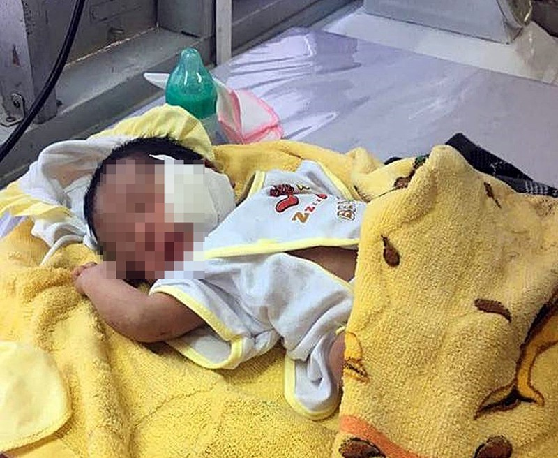 Truy tìm kẻ chôn sống bé trai 1 ngày tuổi ở Bình Thuận - ảnh 1