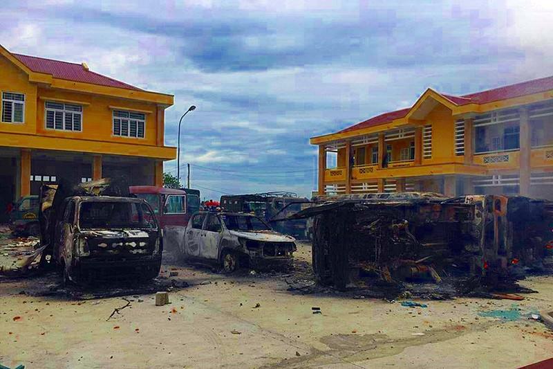 Bình Thuận thiệt hại hàng chục tỉ vì nhóm người quá khích - ảnh 1