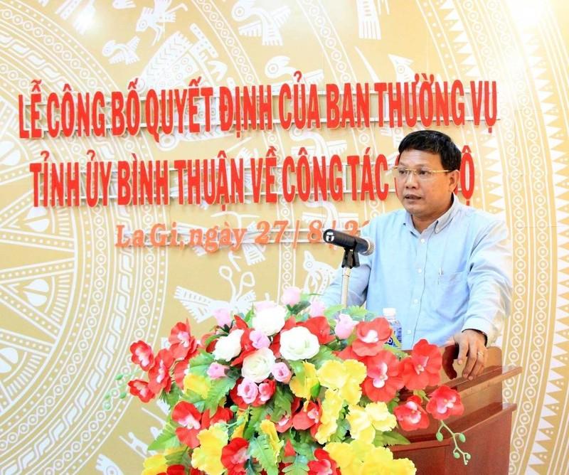 Phó chủ tịch Bình Thuận về làm bí thư thị xã La Gi - ảnh 1