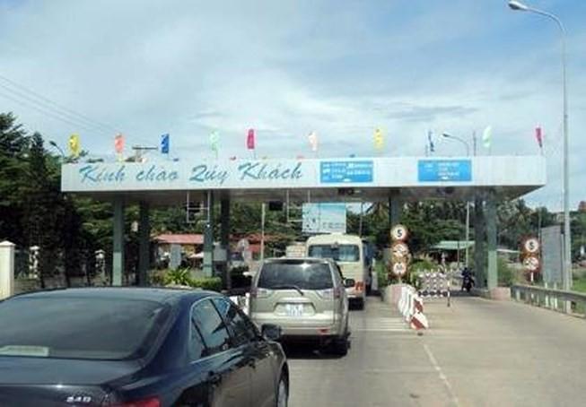 Trạm BOT Phú Hài dừng hoạt động trước thời hạn - ảnh 1