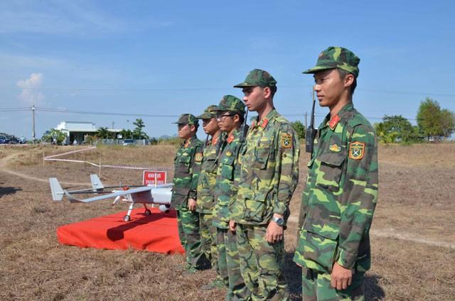 Bình Thuận dùng máy bay không người lái kiểm tra rừng - ảnh 2