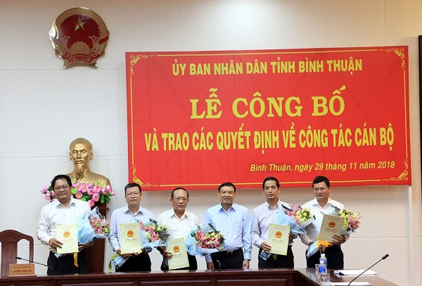 Ông Võ Thanh Bình làm Chánh văn phòng UBND tỉnh Bình Thuận - ảnh 1