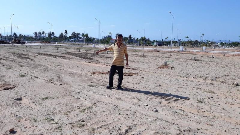 Vườn dừa bỗng dưng bị doanh nghiệp ủi sạch phân lô bán nền - ảnh 2