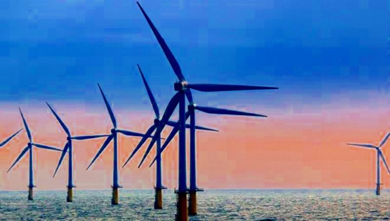 Xây dựng 'Cánh đồng gió ngoài khơi' biển Kê Gà - ảnh 1