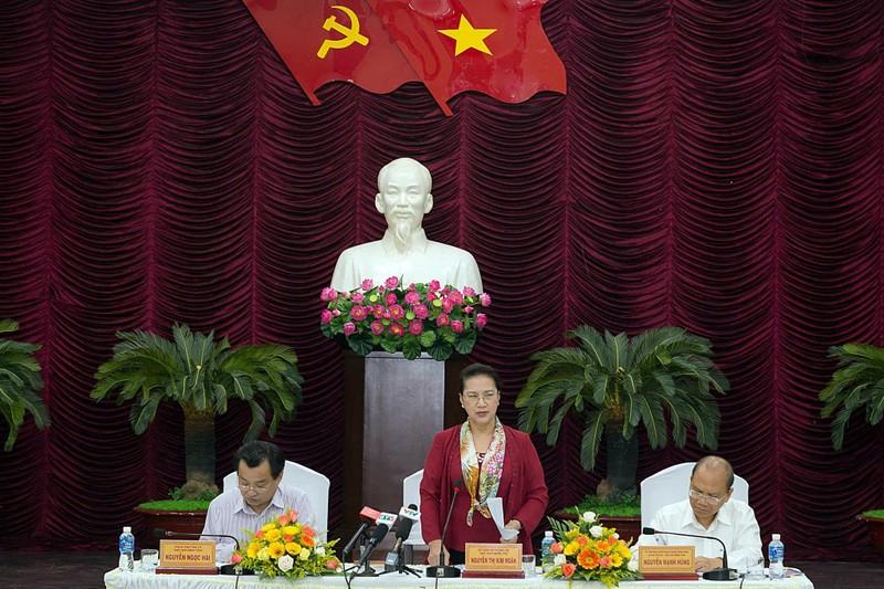 Bình Thuận báo cáo 5 'điểm nghẽn' lên Chủ tịch Quốc hội  - ảnh 1