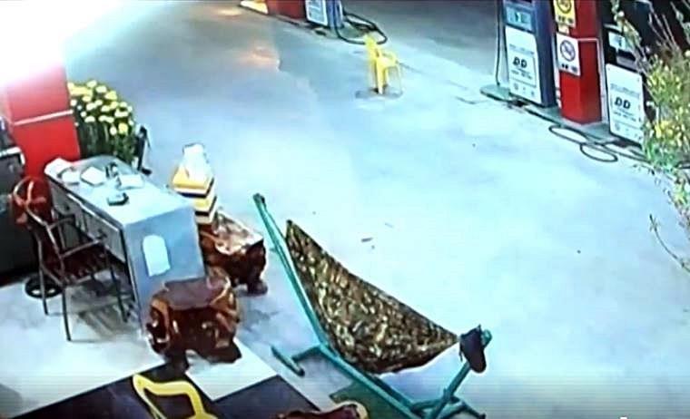 Tìm ra nhân chứng vụ giết người tại cây xăng ở Bình Thuận - ảnh 1