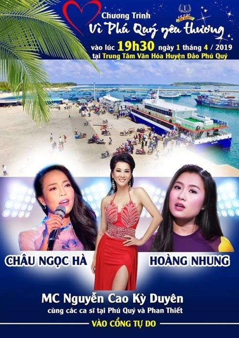 Nguyễn Cao Kỳ Duyên hát bằng loa kẹo kéo khi bị huỷ diễn - ảnh 2