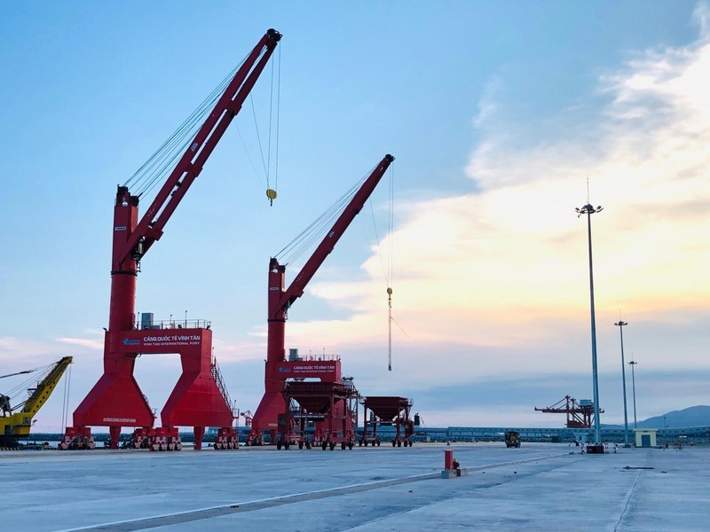 Khánh thành Cảng biển quốc tế Vĩnh Tân ở Bình Thuận  - ảnh 2