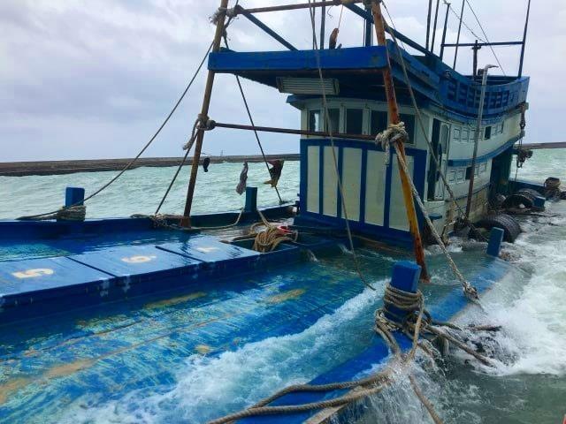 Thông tin mới nhất vụ tàu chở 70.000 lít dầu chìm ở Phú Quý - ảnh 2
