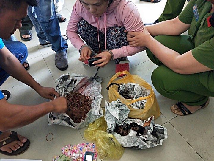 Phá đường dây ma túy lớn ở Phan Rí Cửa - ảnh 2