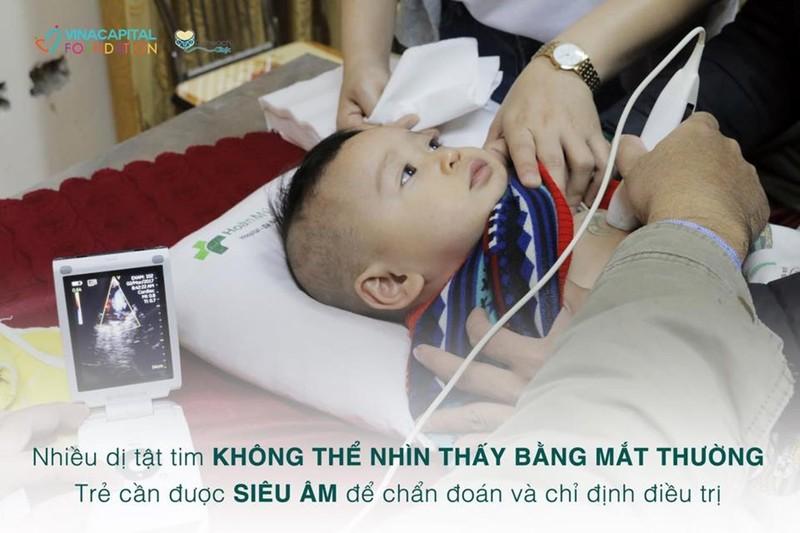 Khám sàng lọc tim bẩm sinh miễn phí cho trẻ em Bình Thuận - ảnh 3