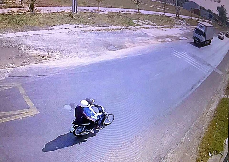 Cụ ông 73 tuổi chạy xe ôm bị cướp siết cổ - ảnh 3