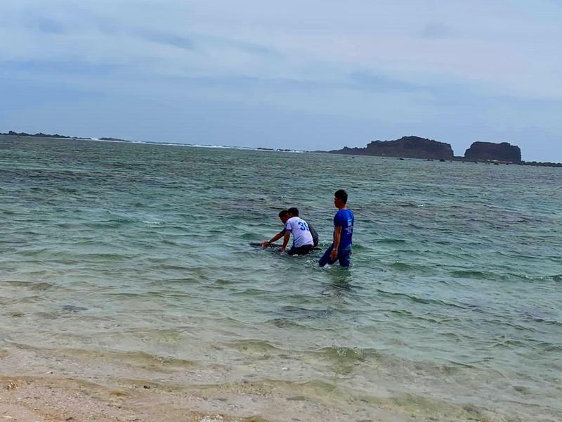 Dân tổ chức hò bá trạo để cá bà chuông về biển mà bất thành - ảnh 1