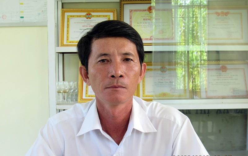 Giám định thương tật chủ tịch Hội Nông dân La Gi bị chém - ảnh 1