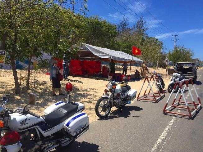 Bình Thuận lập 8 chốt chống dịch trên quốc lộ, tỉnh lộ - ảnh 2