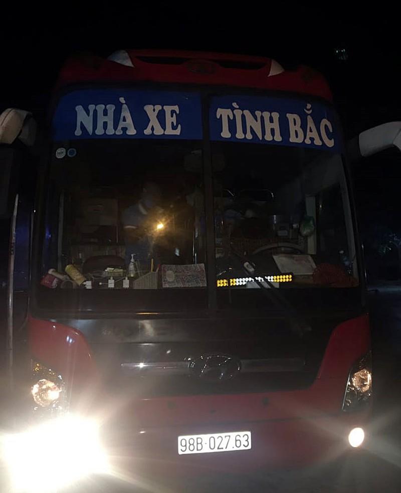 Bình Thuận thông tin xe khách chở 30 người bị CSGT Hà Nội giữ - ảnh 2