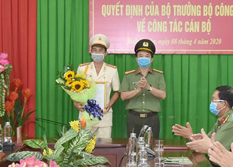 Hiệu phó trường an ninh làm phó giám đốc Công an Bình Thuận - ảnh 1